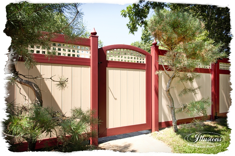 color pvc viny fence installs by forever fence