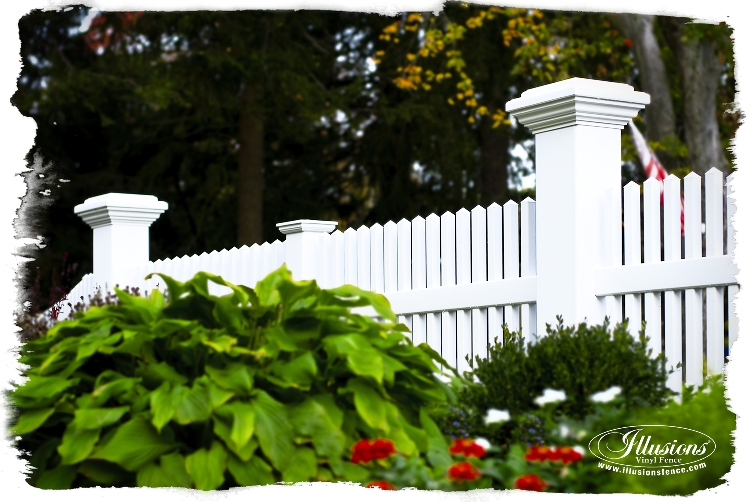 forever fence company of new jersey installs illusions fence
